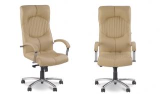 Офисное кресло Germes steel chrome