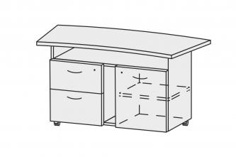 Стол для аппаратуры СС-13-67